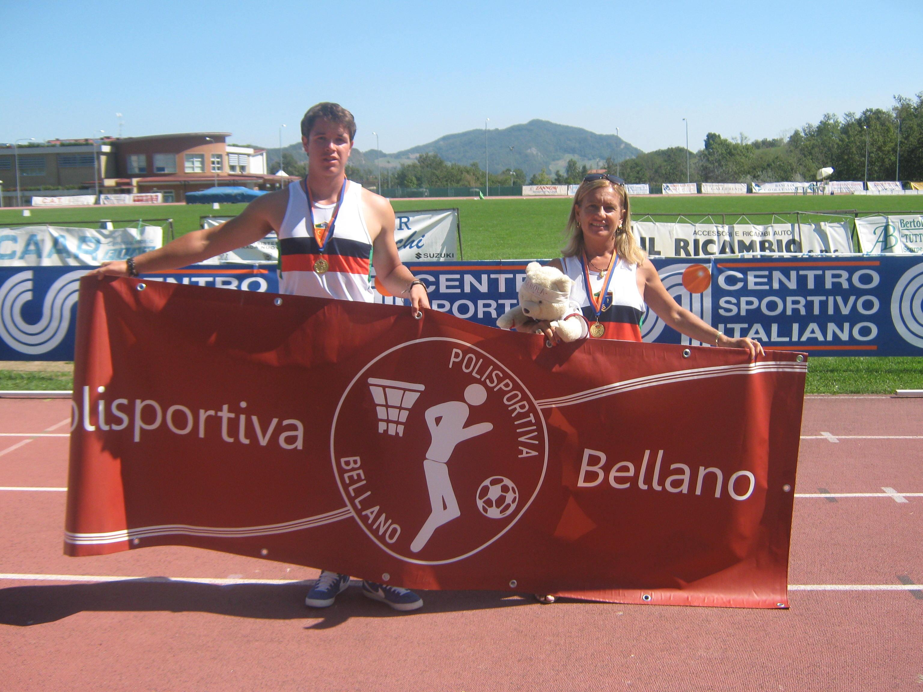 Paolo Nogara e Paola Balbiani - Campioni Italiani su pista 2012