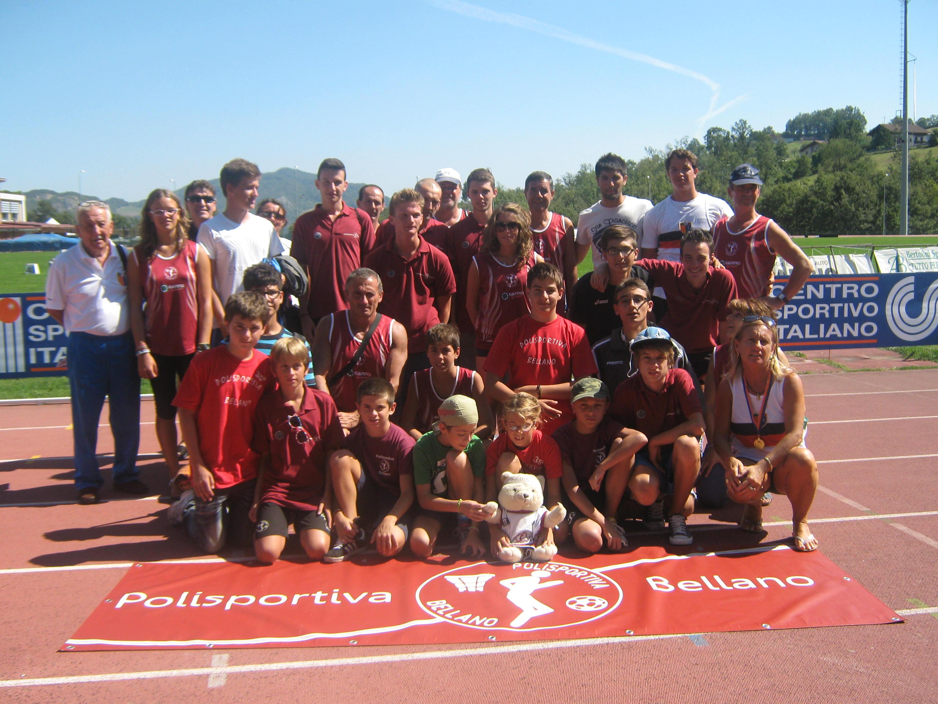 15° Gran Premio Nazione Atletica su Pista - Pol. Bellano