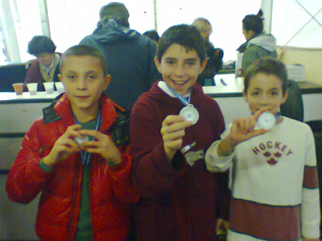 Vice Campioni Provinciali Staffetta Maschile - Lomazzo 2012