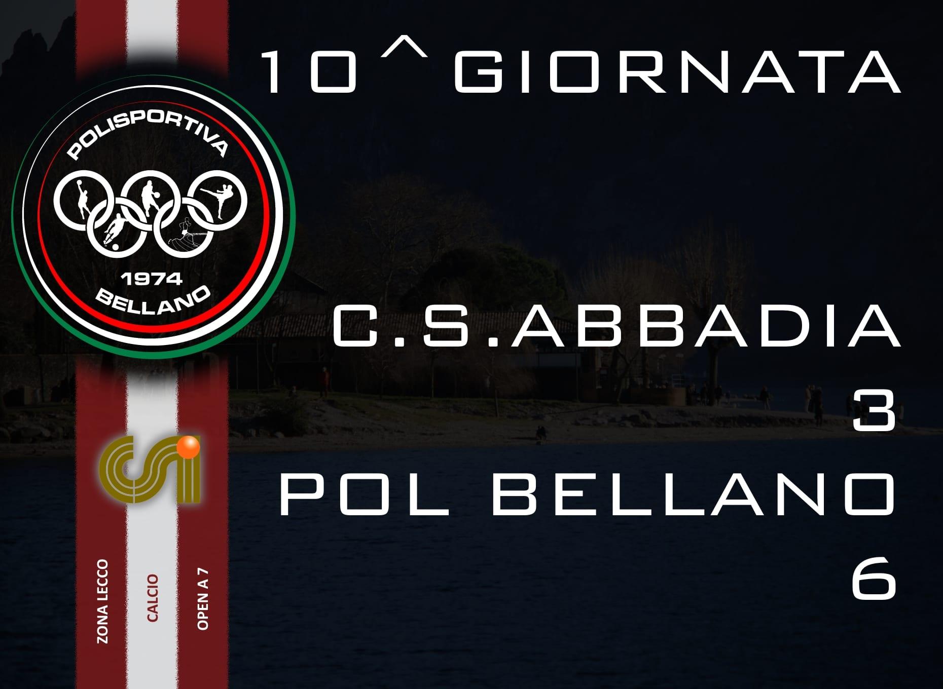 CALCIO OPEN A 7 – 10^ GIORNATA ANDATA 2015/16