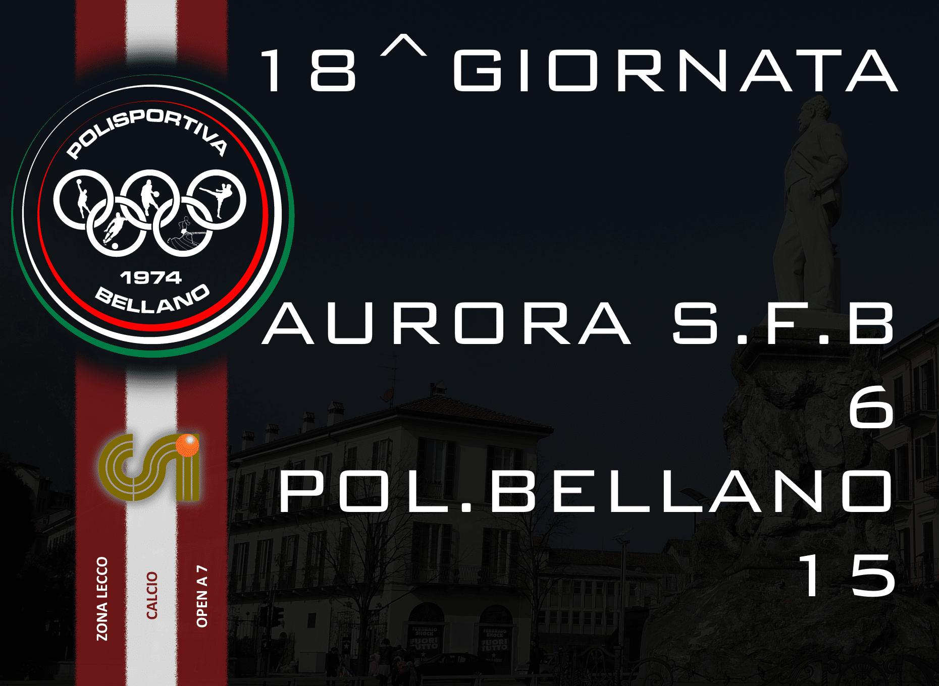 CALCIO OPEN A 7 – 7^ GIORNATA RITORNO 2015/16