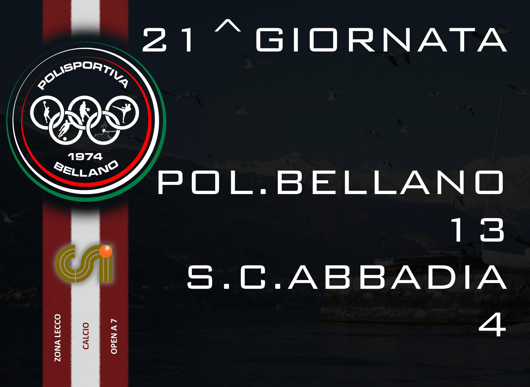 CALCIO OPEN A 7 – 10^ GIORNATA RITORNO 2015/16
