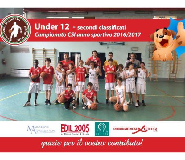 Basket Under 12 2016_2017