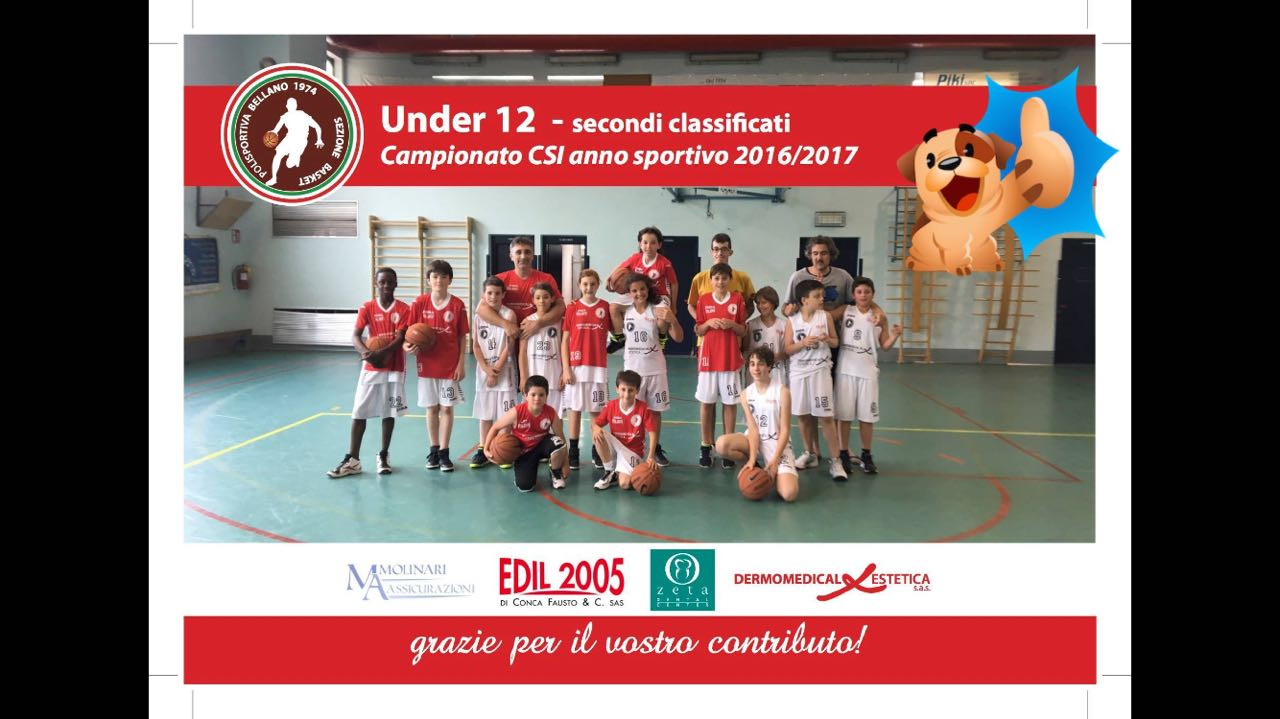 Sez. Basket – UNDER 12