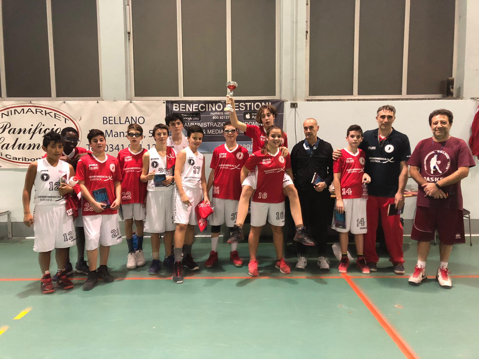 Torneo Basket U14 – 9 dicembre 2018