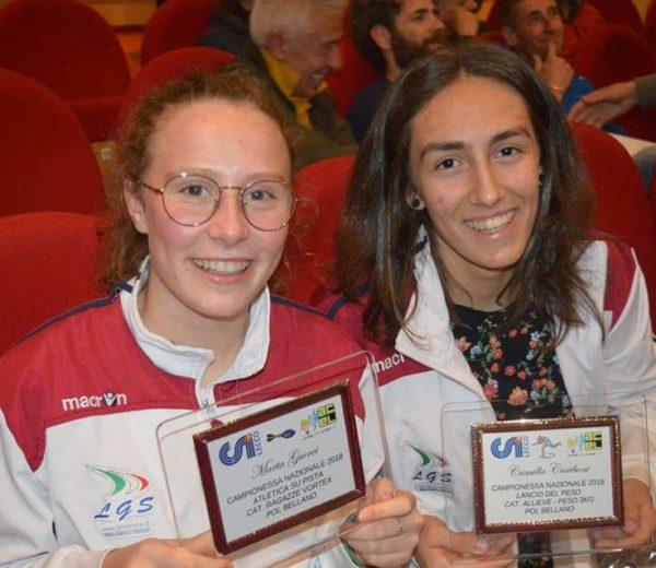 Campioni nazionali atletica. Premiazioni CSI (2)