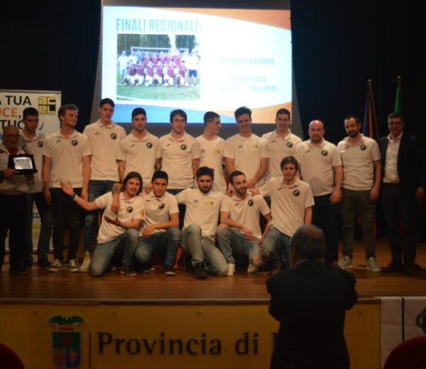 Campioni regionali premiazioni CSI. Top Junior